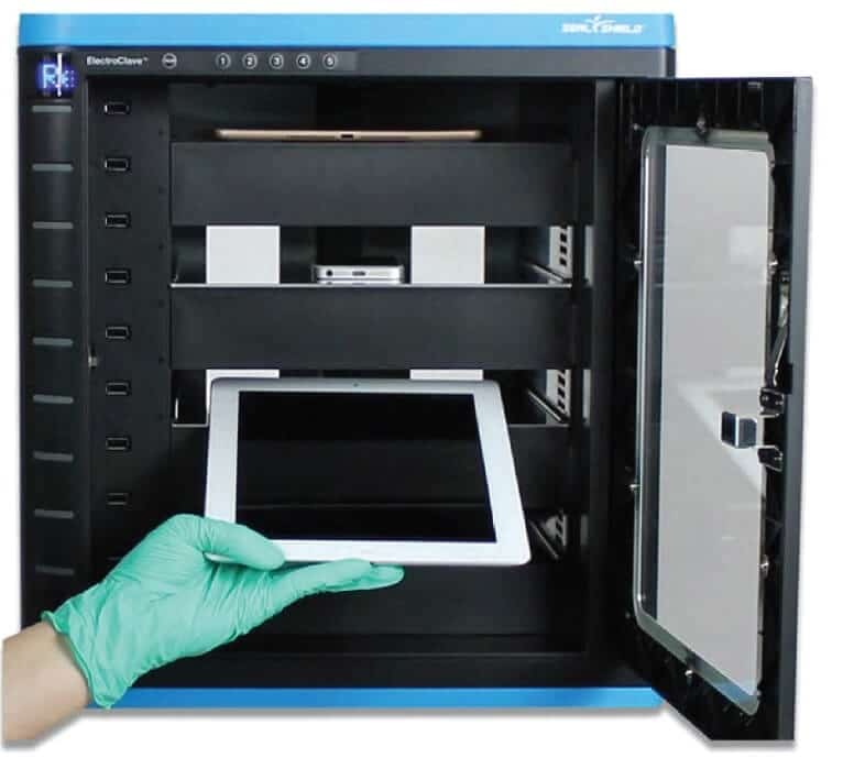 Electroclave: producto antimicrobiano